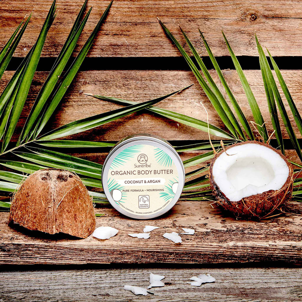 SUNTRIBE All Natural Body Butter Coconut & Argan