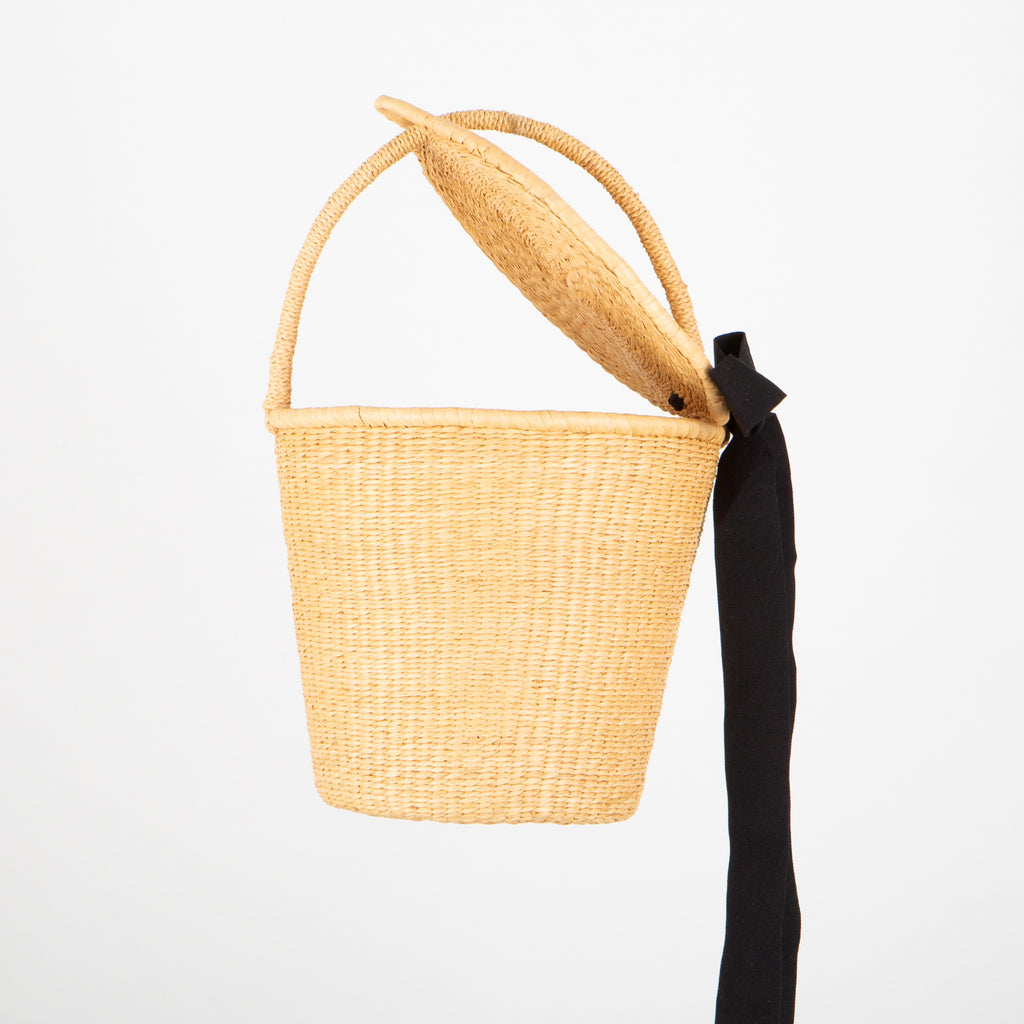 SENSI STUDIO Bucket Basket with Lid