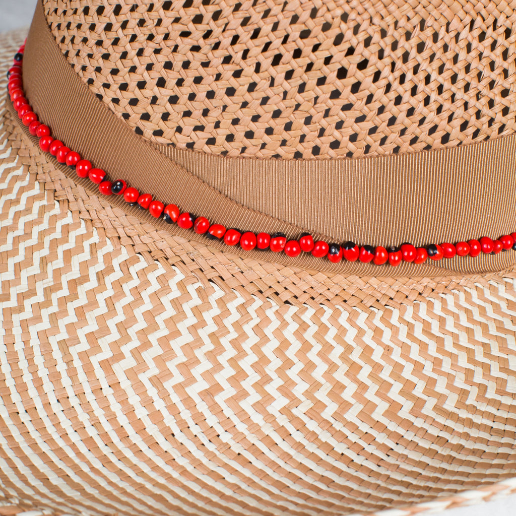 SENSI STUDIO Calcado Panama with Guayuro Beads