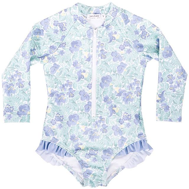 HARRY & POP Surfsuit in Freshwater Floral