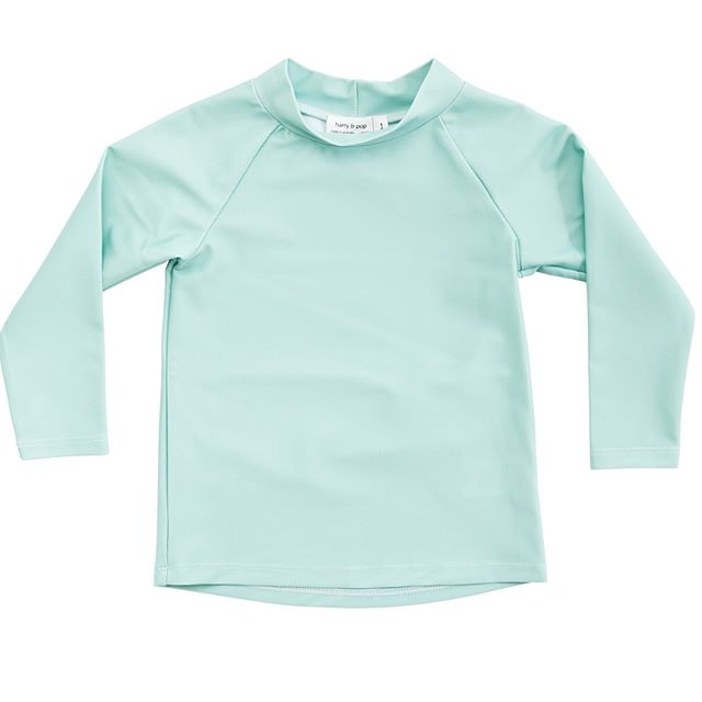 Unisex Rashguard in Great Ocean Green