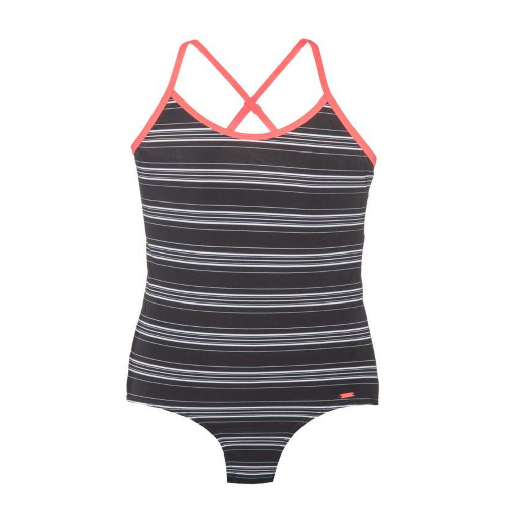PROTEST JUNIOR Koekie Swimsuit in Black Stripe