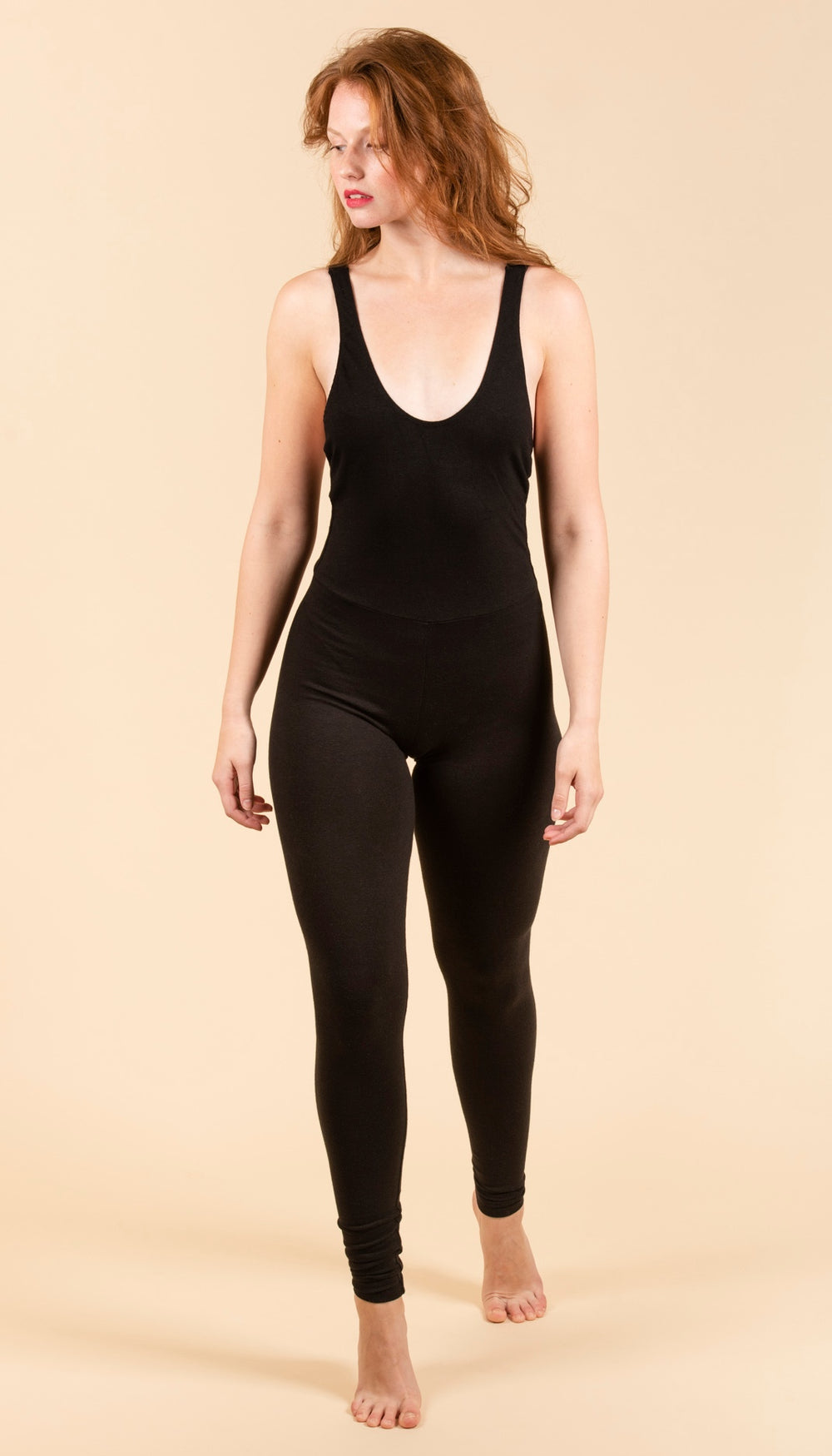 NATASHA TONIC Catsuit in Black