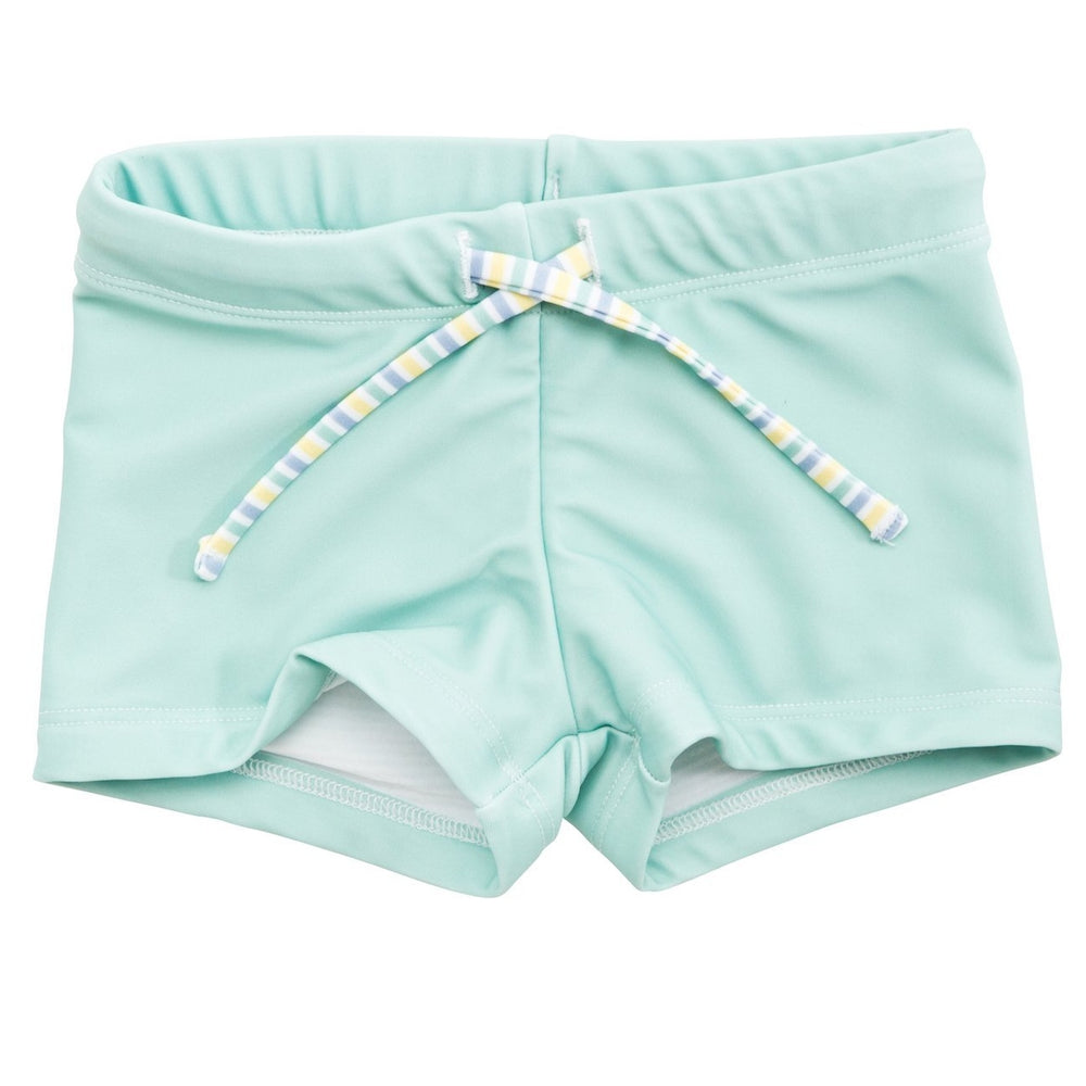 Unisex Budgie Brief in Great Ocean Green
