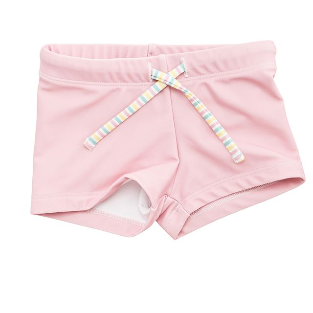 Unisex Budgie Brief in Palm Cove Pink