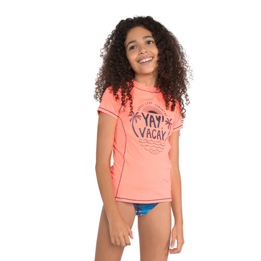 PROTEST JUNIOR Rafa Short-Sleeved Rashguard