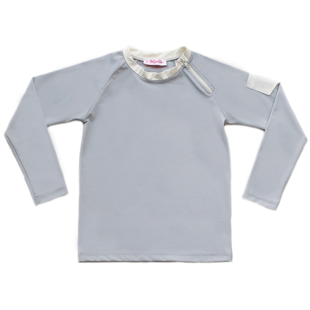 FOLPETTO Spencer Rashguard in Cloud Grey