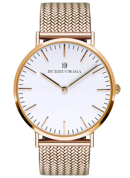 Dolce Vita Milano Rose Gold & White