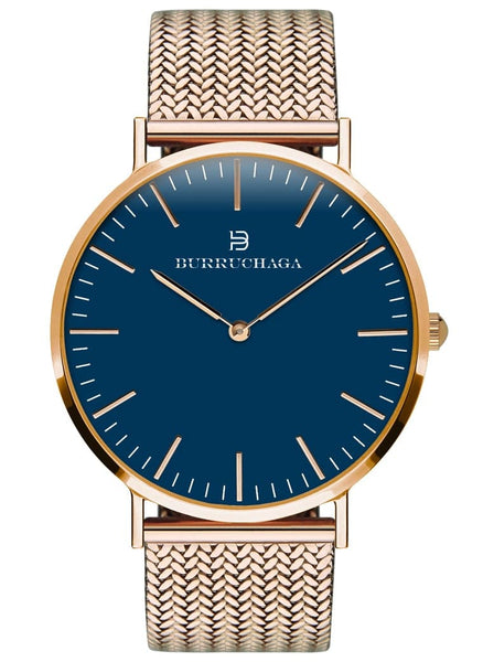 Dolce Vita Milano Rose Gold & Blue