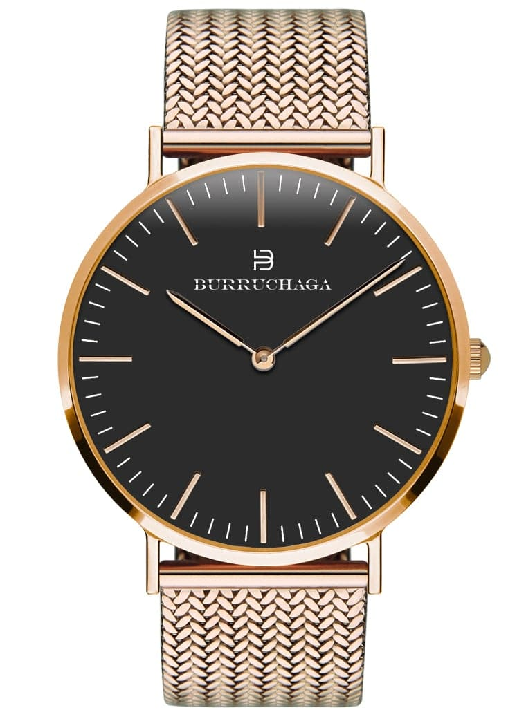 Dolce Vita Milano Rose Gold & Black