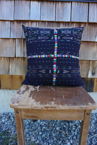 Autumn - Vintage Guatemalan Textile Pillow