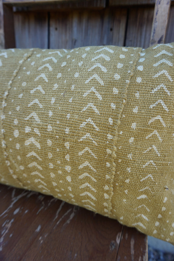 Mia - African Mudcloth Pillow