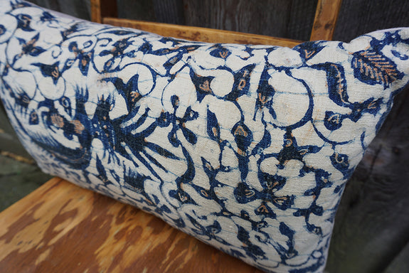 Daphne - Indonesian Batik Pillow