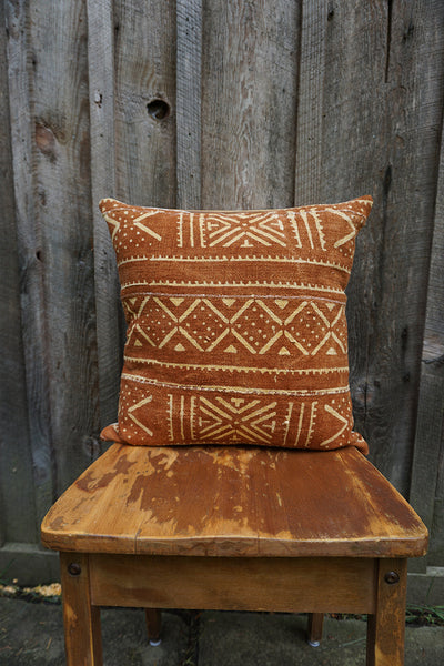 Heather - African Mudcloth Pillow