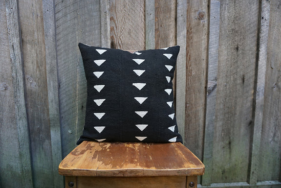 Freddie - African Mudcloth Pillow