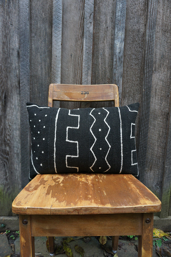 Mary - African Mudcloth Pillow