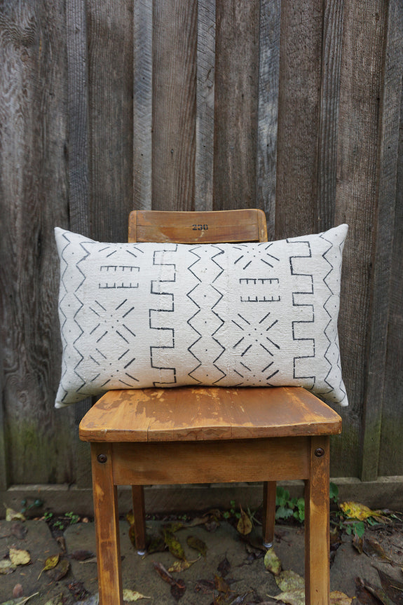 Paige - African Mudcloth Pillow