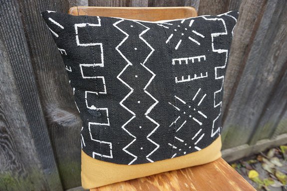 Bailey - African Mudcloth Pillow