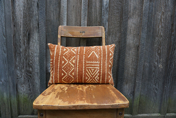 Andrea - African Mudcloth Pillow