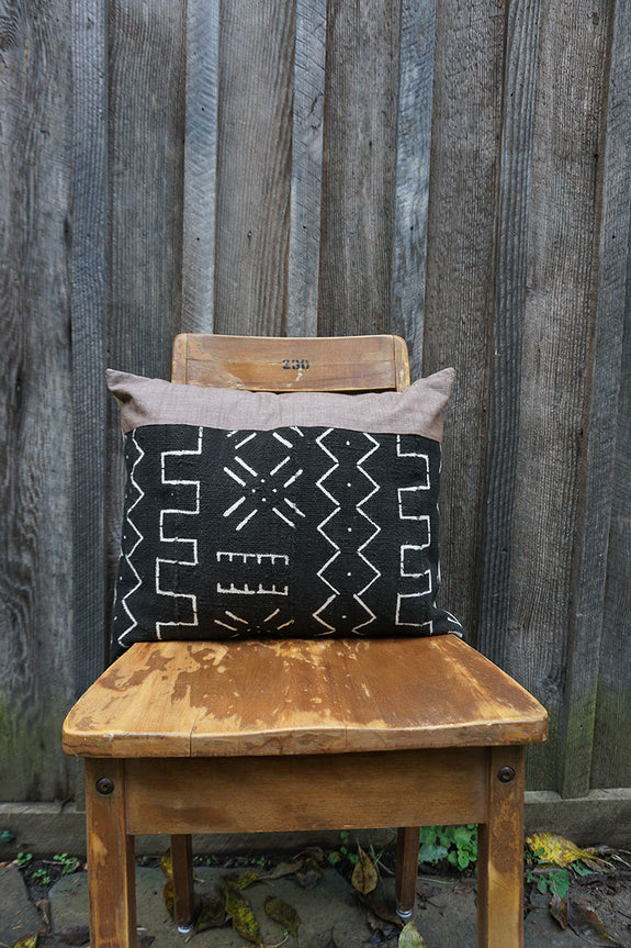 Kylie - African Mudcloth Pillow