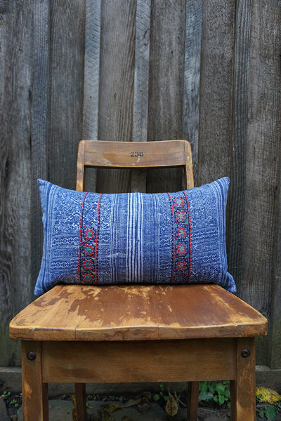 Angelina - Hmong Textile Pillow