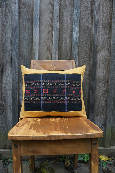 Alice - Burmese Textile Pillow