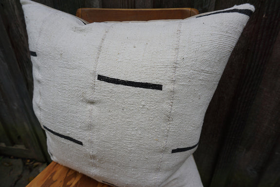 Evelyn - African Mudcloth Pillow
