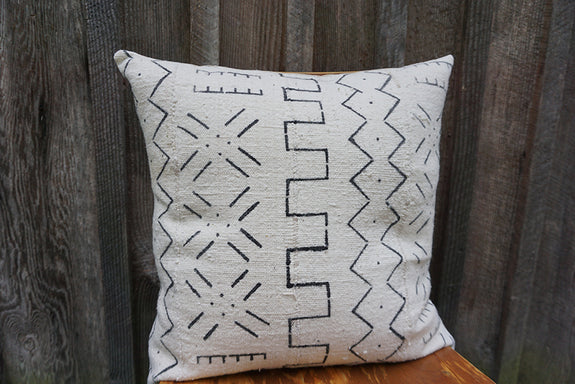 Addison - African Mudcloth Pillow