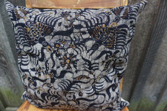 Ariel - Indonesian Batik Pillow