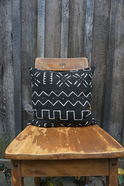 Aaliyah - African Mudcloth Pillow