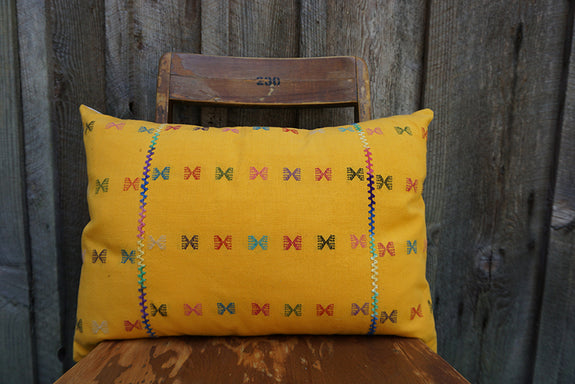 Daliah - Mexican Textile Pillow