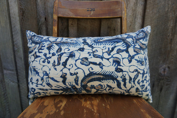 Elsea - Indonesian Batik Pillow