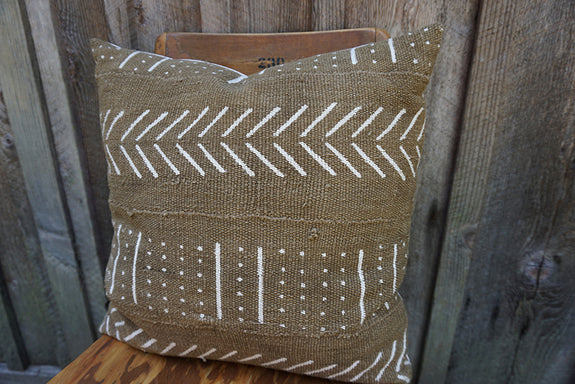 Meredith - African Mudcloth Pillow