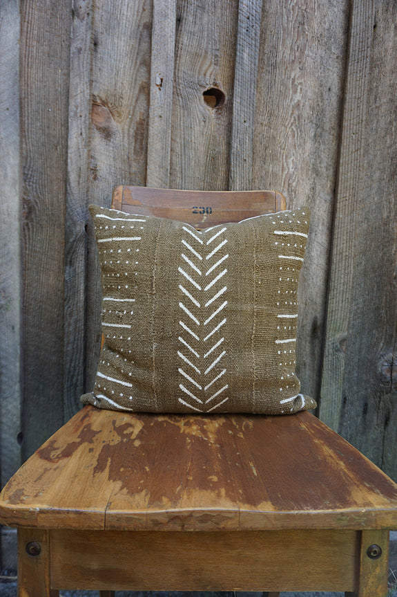 Kennedy - African Mudcloth Pillow