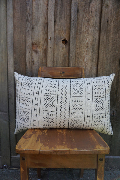 Beatrice - African Mudcloth Pillow