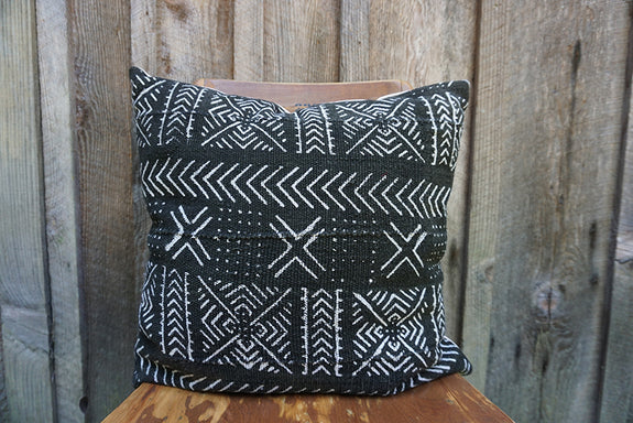 Harry - African Mudcloth Pillow