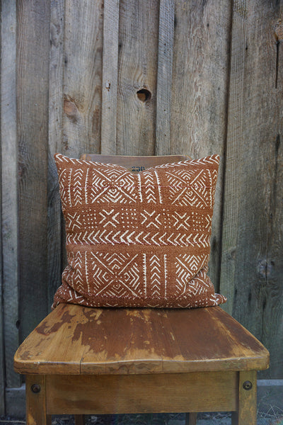 Dakota - African Mudcloth Pillow