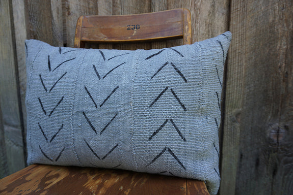 Serena - African Mudcloth Pillow