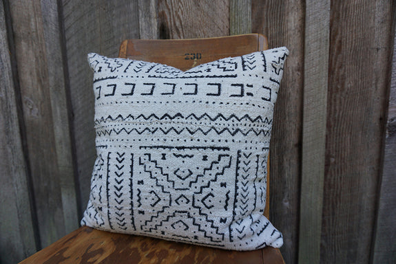 Sawyer - African Mudcloth Pillow