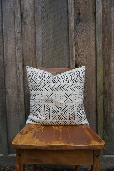 Parker - African Mudcloth Pillow