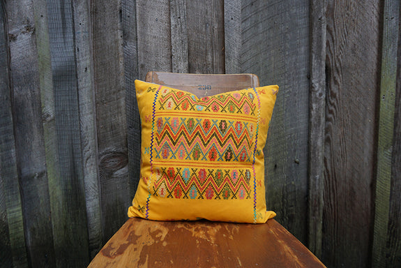 Elena - Mexican Textile Pillow
