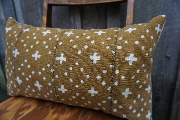 Aileen - African Mudcloth Pillow