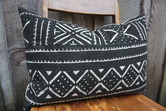 Gracie - African Mudcloth Pillow