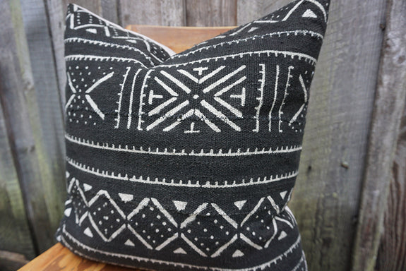 Julia - African Mudcloth Pillow