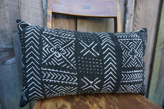 Darby - African Mudcloth Pillow