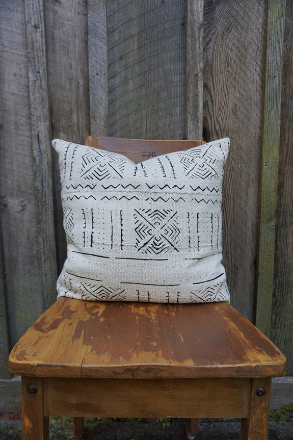 Brylee - African Mudcloth Pillow