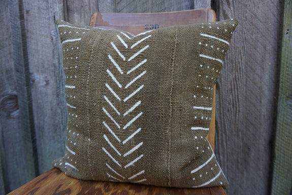Makenna - African Mudcloth Pillow