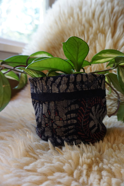 Indonesian Batik Plant Holder