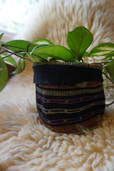 Indonesian Ikat Plant Holder