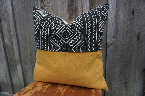 Ellison - African Mudcloth Pillow